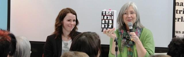 Gunnhild Oyehaug (links) auf der Leipziger Buchmesse (c) Sonja Hartl