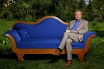 Wolfgang Herles auf dem &quot;blauen Sofa&quot; (c) ZDF