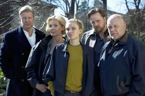 Bergman (links) mit seinem Team (c) Edel:Motion
