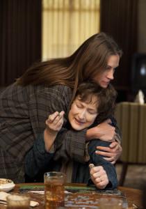 Julia Roberts mit Meryl Streep (c) Tobis